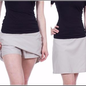 Patagonia DuWay Skirt Skort khaki 10 NWT